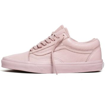 Old Skool Leather Sneakers Mono / Sepia Rose