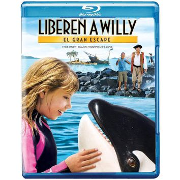 Free Willy: Escape from Pirate's Cove on Blu-Ray
