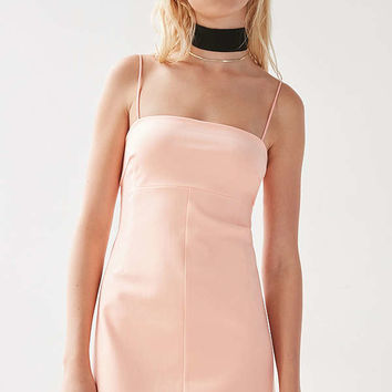 Silence + Noise Audrey A-Line Mini Slip Dress | Urban Outfitters