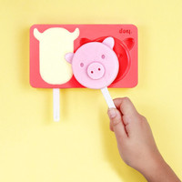 Zoo Ice Pops | Funny Ice Cream Molds