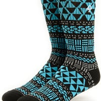 LRG Naturalist Black Crew Socks