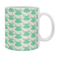 Allyson Johnson Minty Deer Coffee Mug