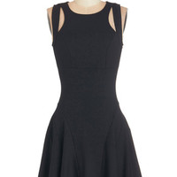 ModCloth LBD Short Length Racerback Fit & Flare Infinite Potential Dress