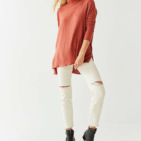 Out From Under Iona Ribbed Turtleneck Top | Urban Outfitters