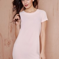 Sweet Now Sour Later Shift Dress Pastel Pink | LASULA