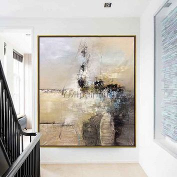 Abstract Painting on canvas Nordic style acrylic original painting Wall Art Pictures for living room home decor cuadros abstractos art decor