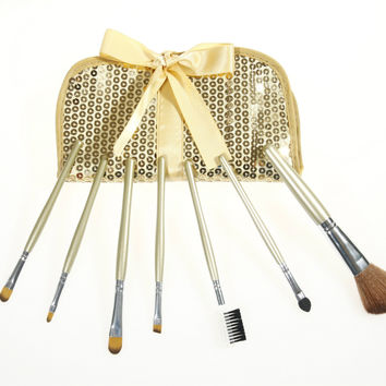 7-pcs Gold Make-up Brush Set = 4831023108