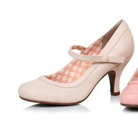Ellie Shoes E-BP320-Bettie Retro Mary Jane Heel