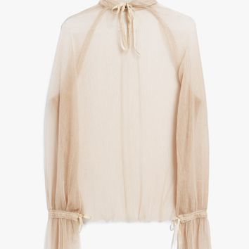 Farrow / Williams Sheer Blouse