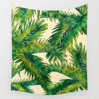 Palms Wall Tapestry by jbjart