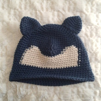Snorlax Crochet Bowler Hat | Pokemon Cosplay