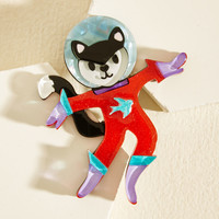 Space Cat-det Resin Pin | Mod Retro Vintage Pins | ModCloth.com