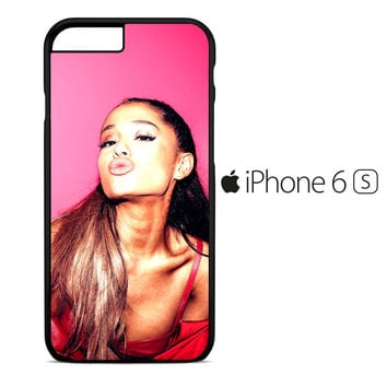 Ariana Grande Kiss Lips iPhone 6S Case