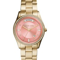 Michael Kors Women's Colette Gold-Tone Stainless Steel Bracelet Watch 34mm MK6143 | macys.com