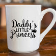 Daddy's Little Princess Coffee Mug Decal | Daddys Girl Decal | Preppy Decal | Sassy Decal | Yeti Decal | iPhone Decal | MacBook Decal |  219