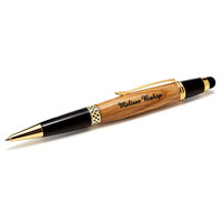 PERSONALIZED WHISKEY BARREL STYLUS PENS
