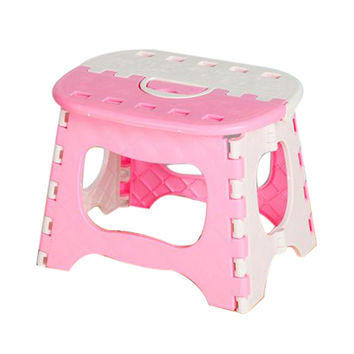 Portable Multi Purpose Folding Step Stool Home Train Outdoor Storage Foldable small chair creepie cutty style drop shipping
