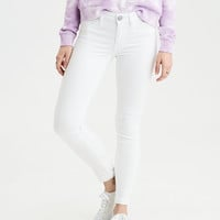 Jegging Crop, White