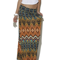 Fall Festival Maxi Skirt  | Shop Just Arrived at Wet Seal