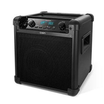 Ion Audio iPA77 Tailgater Portable Bluetooth Speaker PA System with Microphone, AM/FM Radio, and USB Charge Port (Current Model)