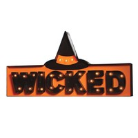 Wicked Marquee Sign