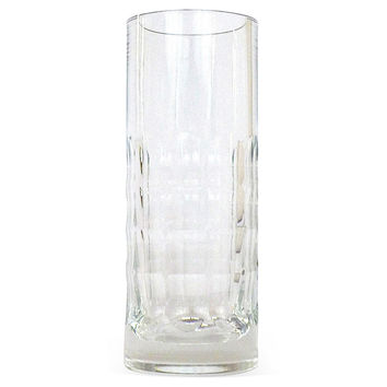Baccarat  French Crystal Thumbprint Vase