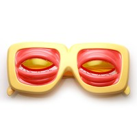 Zombie Monster Creepy Crazy Bulging Eyes Novelty Costume Party Glasses