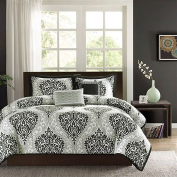 Shop Black And White Comforter Sets on Wanelo