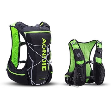 AONIJIE Men Women Professional Running Backpack Outdoor Sports Trail Racing Hiking Marathon Fitness Hydration Vest Pack