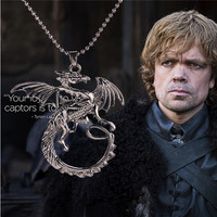 Targaryen Dragon Necklace