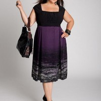 Plus Size Martina Dress in Purple by IGIGI