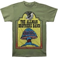 Allman Brothers Men's  Hell Yeah Mens T T-shirt Military