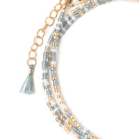 "Tess and Tricia ""Clarity"" Carded Bracelet"