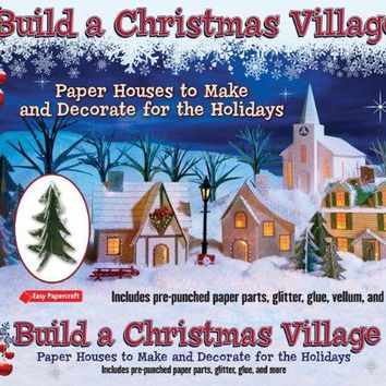 Build a Christmas Village Easy Papercraft BOX NOV