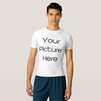 Create Your Own Men Performance Compression TShirt