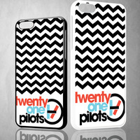 twenty one pilots logo X0393 iPhone 4S 5S 5C 6 6Plus, iPod 4 5, LG G2 G3, Sony Z2 Case