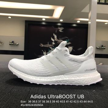 Adidas Ultra Pure Boost ub 3.0 White Fashion casual trainers - BA8841