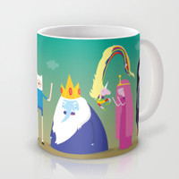 Adventure time characters Mug by Maria Jose Da Luz