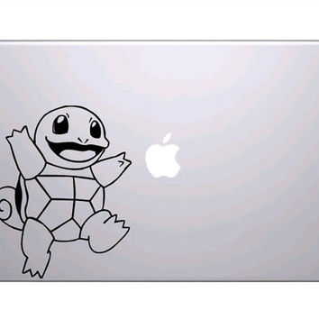 Squirtle pokemon anime vinyl decal 6 long by jmgraphicx on Etsy