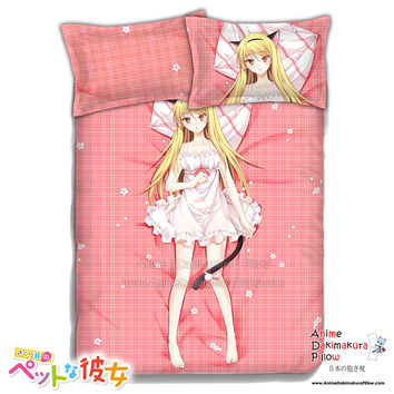 New Maashiro Shiina - Sakurasou no Pet na Kanojo Japanese Anime Bed Blanket or Duvet Cover with Pillow Covers ADP-CP151209