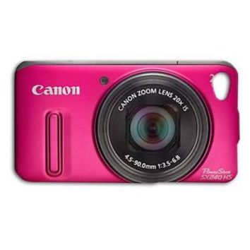 Cute Pink Camera Phone Case Hot Funny Cover iPhone 5 5c 5s 4 4s 6 6s Plus Cool