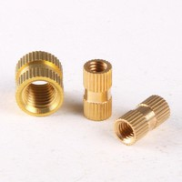 100PCS Brass Knurled Nuts Insert Embedded Nuts M3 *3* 5 GB809
