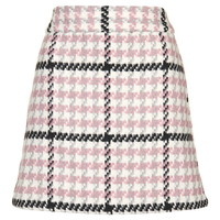 Check Mini Skirt - Skirts - Clothing