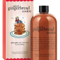 philosophy 'spiced gingerbread' shampoo, shower gel & bubble bath | Nordstrom