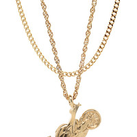 Mister  Cati Necklace - Gold