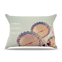 "Susannah Tucker ""Sweet Summer Days"" Carnival Pillow Sham"