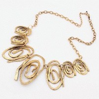 Endless Circles Statement Necklace | LilyFair Jewelry