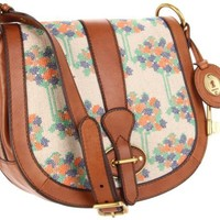 Fossil Vintage Reissue Flap Floral Cross Body - designer shoes, handbags, jewelry, watches, and fashion accessories | endless.com