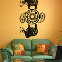 Vinyl Wall Decal Sticker Arabic Elephant Art #OS_AA336