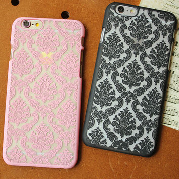 retro lace case cover for iPhone 5s 6 6s plus gift 255